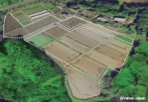 造成・設置前:茨城・大古山Ⅱ