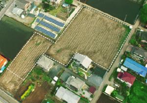 造成・設置前:栃木・上三川町Ⅱ