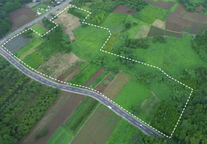 造成・設置前:茨城・染谷(2期)