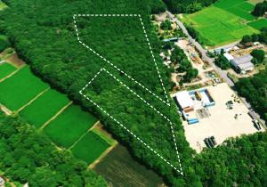 造成・設置前:栃木・那須塩原Ⅱ