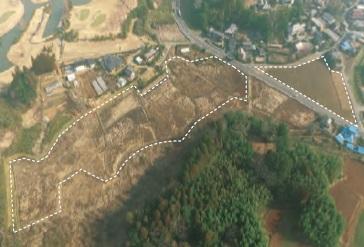 造成・設置前:茨城・松山