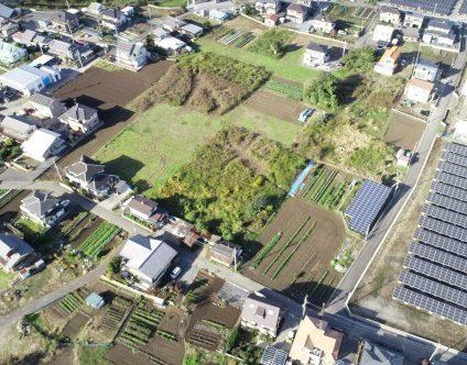 造成・設置前:栃木・足利市新宿町